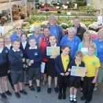 Marpool CP School – runner up in the best school garden category