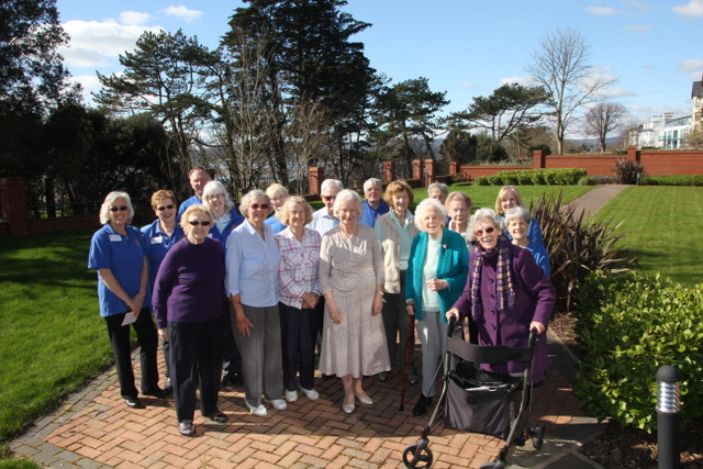 Bloom members at Roswell Court