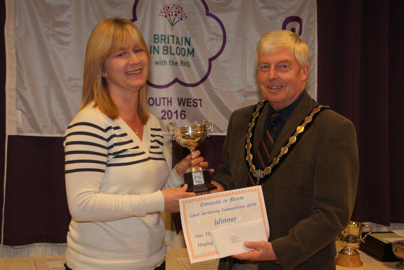 Hayley Taylor, winner of best business premises